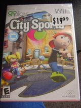 Wii Go Play City Sports Game NEW in Manhattan, Kansas