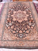 Silk Kashmir Hanging Carpet (Handmade Pure Silk) in Kirtland AFB, New Mexico