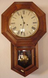 School House Clock, 25 years old in Ramstein, Germany