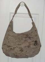 USMC MARPAT Desert Tan Hobo Bag in Camp Lejeune, North Carolina