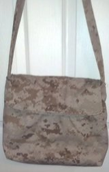 USMC MARPAT Desert Tan Messenger Bag/Purse in Cherry Point, North Carolina