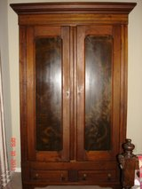 Antique Walnut Wardrobe in Kingwood, Texas